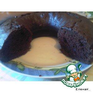 Рецепт: Самый шоколадный кекс