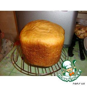 Рецепт: Сырно-кунжутный хлеб (для хлебопечки)