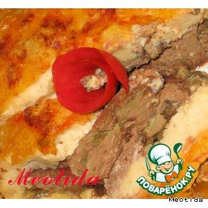 Рецепт: Печень индейки Золотая осень