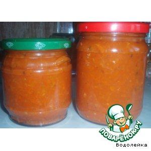 Соус из желтых помидоров – кулинарный рецепт