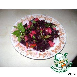 Рецепт: Свекольный салат