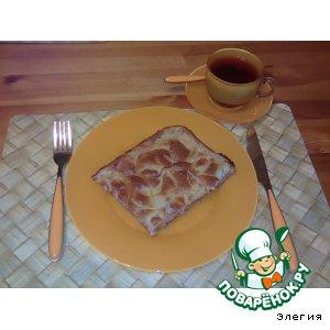 Рецепт: Пирог Рыбная шарлотка