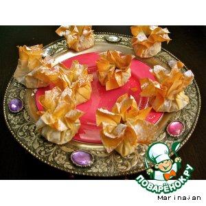 Рецепт: Пирожные Яблочный сюрприз