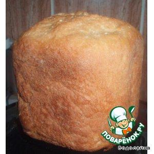 Рецепт: Пшеничный хлеб с ..... яблоком. (рецепт для ХП)
