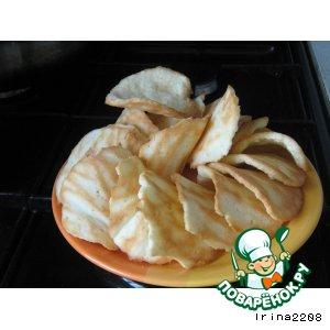 Рецепт: Кокосовые чипсы