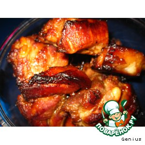 Рецепт: Свиные ребрышки Радость желудка