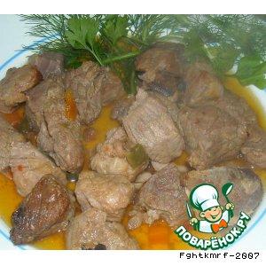 Рецепт: Жаркое охотничье  по-филипповски