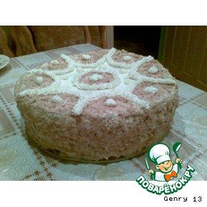 Рецепт: Торт Наполеон двойной