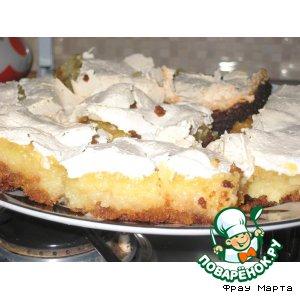 Воздушный дынный пирог – кулинарный рецепт