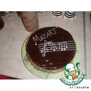 "Рецепт: Торт ""Моцарт"""