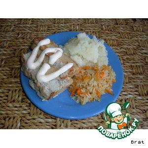 Рецепт Суфле рыбное диетическое