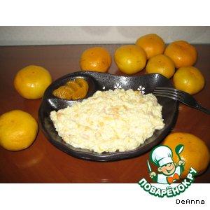 Рецепт: Салат «Оранжевое настроение»