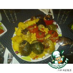 Рецепт: Фаршированные овощи