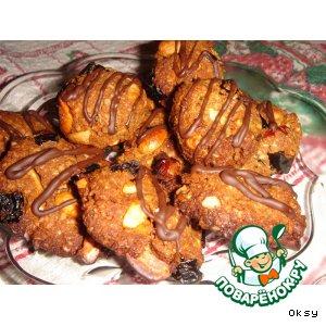 Рецепт: Печенье из сухих завтраков