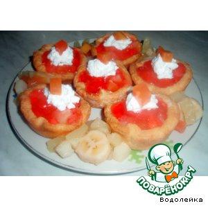 Рецепт: Тарталетки Мини-тортик