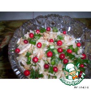 Рецепт: Салат из топинамбура и яблок