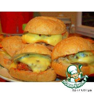Рецепт: Ковбойские чизбургеры