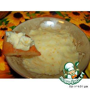 Сырный крем – кулинарный рецепт