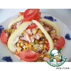 Рецепт: Салат «Жаннет»