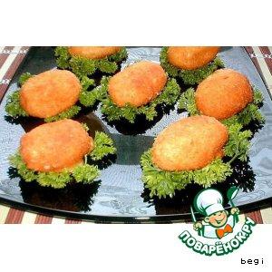 Рецепт: Заварные пирожки из сыра