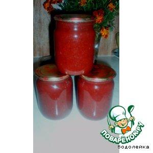 Рецепт: Соус из помидоров и слив