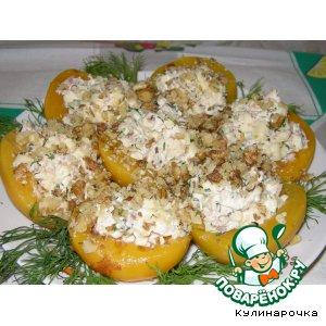 Рецепт: Фаршированные персики