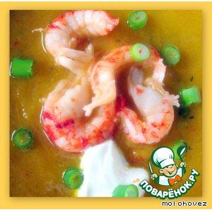 """Рецепт: Суп-пюре """"Привет из Таиланда"""""""