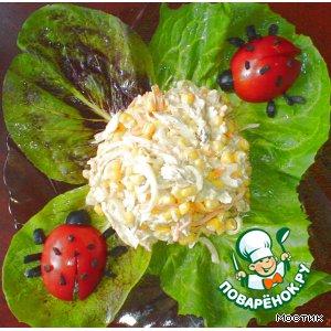 Рецепт: Нежный салатик