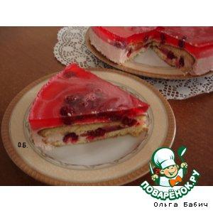 Чиз-кейк малиновый