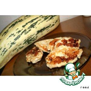 Рецепт: Куриные котлеты с кабачком