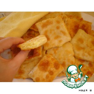 Tortillas with cheese