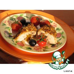 Рецепт: Куриные голени с солнышком внутри