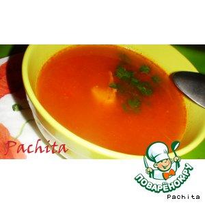 Рецепт: Венгерский рыбный суп Халасле