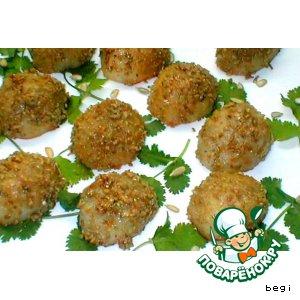 Рецепт: Картофель  в  семечках