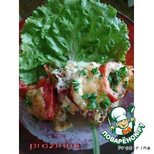 Рецепт: Овощная запеканка с сырокопченой колбасой