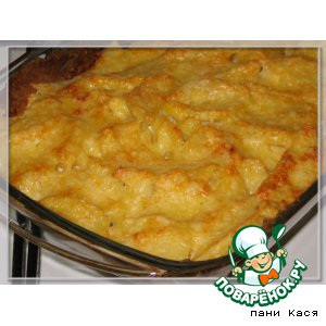 Картофель и фасоль в сливках – кулинарный рецепт