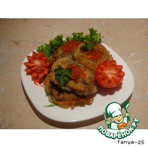 Рецепт: Картофельные драники с икрой