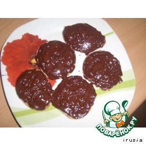 Рецепт: Печенье с апельсиновым мармеладом