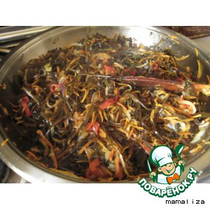Рецепт: Морская капуста по-корейски