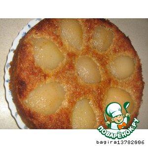 Рецепт: Французский грушевый торт