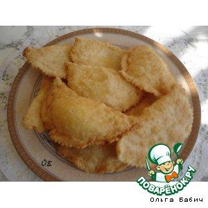 Рецепт: Чебуреки с фетой