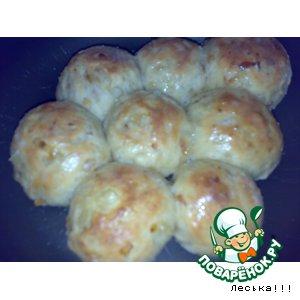 Рецепт: Рисовые булочки и лепешки