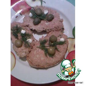 Рецепт: Рыбные бутерброды
