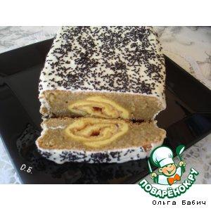 Рецепт: Шоколадно-ореховый кекс