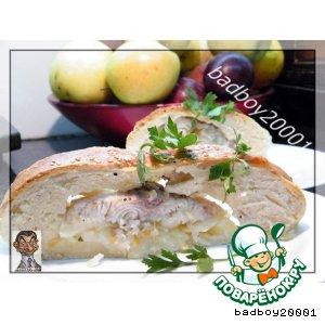 Рецепт: Рыбный пирог с морским языком