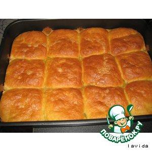 Рецепт Тыквенные булочки в карамели
