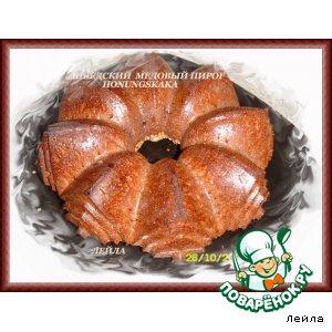 Рецепт: Honungskaka - шведский медовый пирог