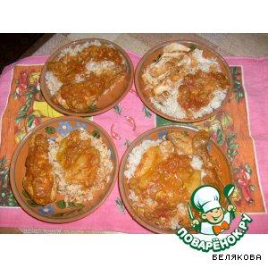 Рецепт: Острая курица