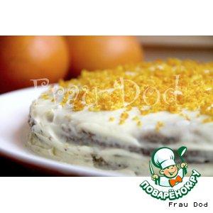 Рецепт: Апельсиновый торт