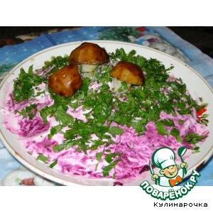 Рецепт: Салат Новая селедка под шубой